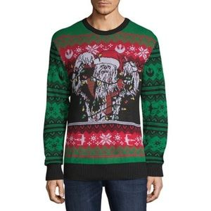 Men's Hybrid Apparel Chewbacca Christmas Sweater
